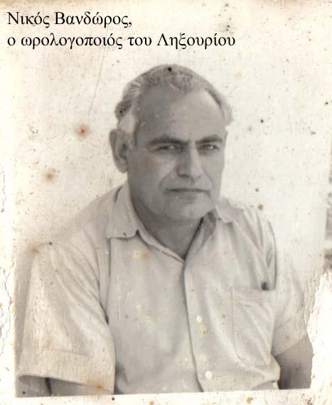 Νίκος Βανδώρος