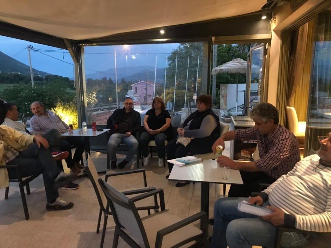 Η χτεσινή Περιοδεία της «Δημοτικής Αναγέννησης για τον Δήμο Σάμης», σε χωριά της Πυλάρου