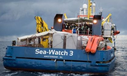 SEA WATCH 3 Photo πηγή The Associated Press
